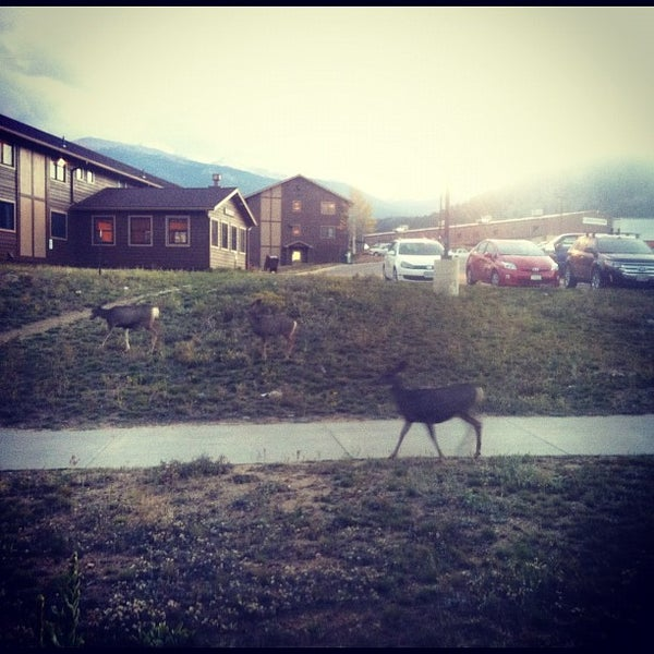 Photo taken at YMCA of the Rockies by Steinunn Þ. on 10/5/2012