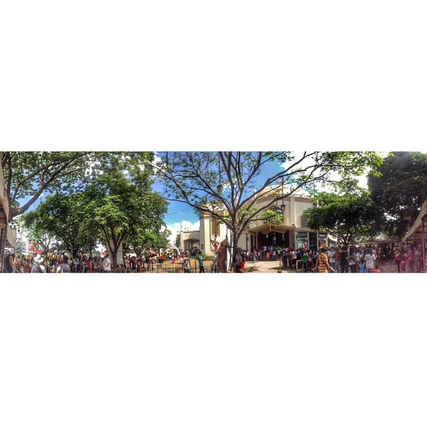 Photo taken at National Shrine of Our Lady of Peace and Good Voyage (Antipolo Cathedral) by Myla C. on 3/15/2015
