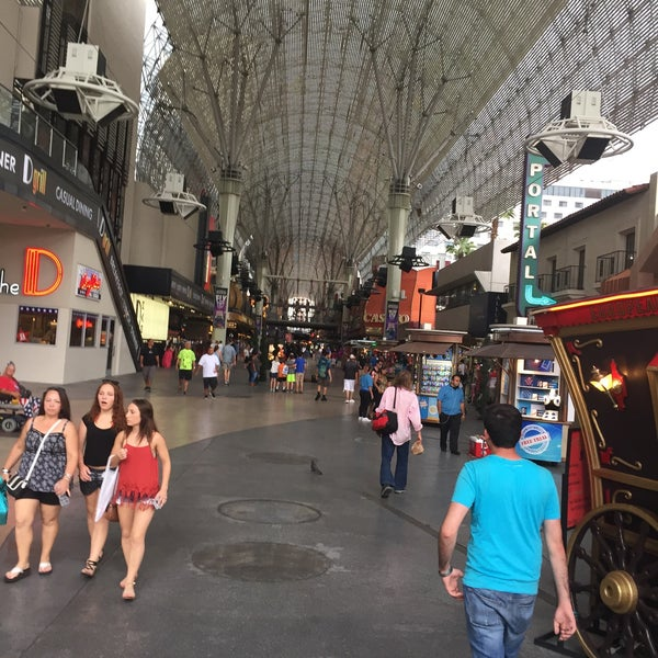 Photo taken at Downtown Las Vegas by Meltem A. on 6/30/2016