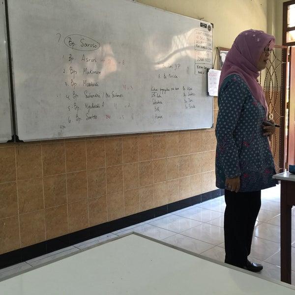 Photo taken at SMA Negeri 4 Semarang by yp l. on 8/5/2016