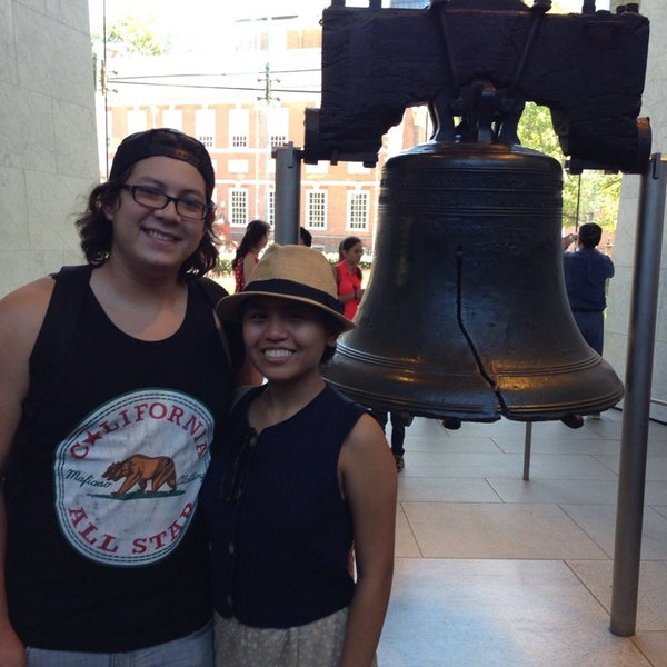 Photo taken at Liberty Bell Center by Claire C. on 7/5/2014