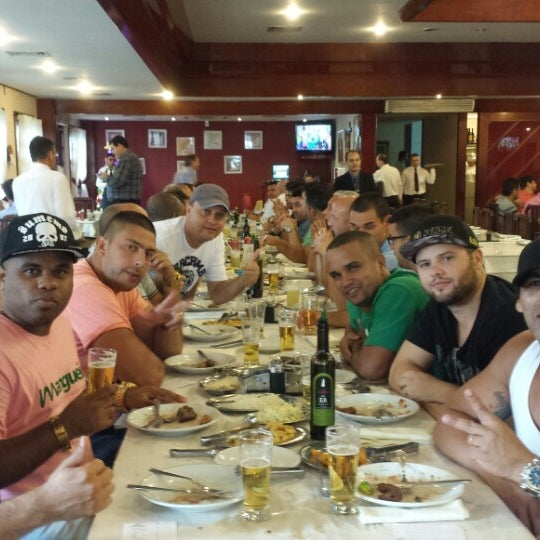 Photo taken at Oasis Churrascaria by Chorão R. on 12/23/2014