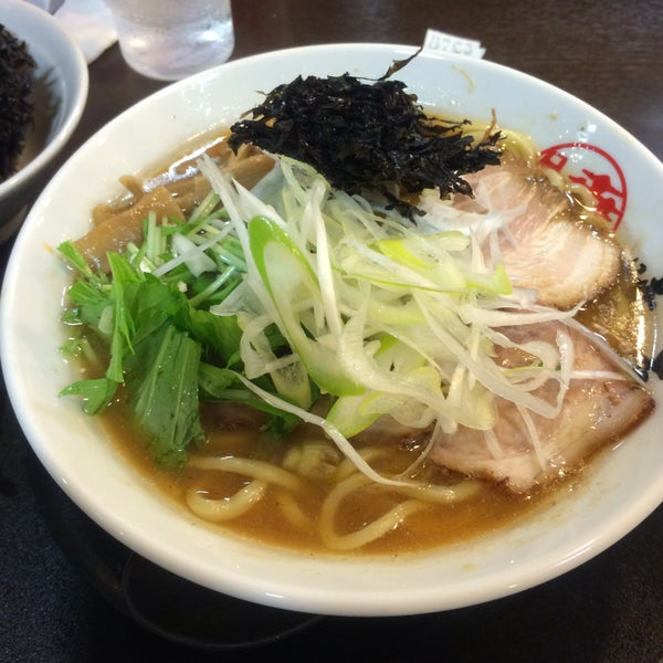 Photo taken at 手打ち麺処 暁天 by Rest on 5/3/2016