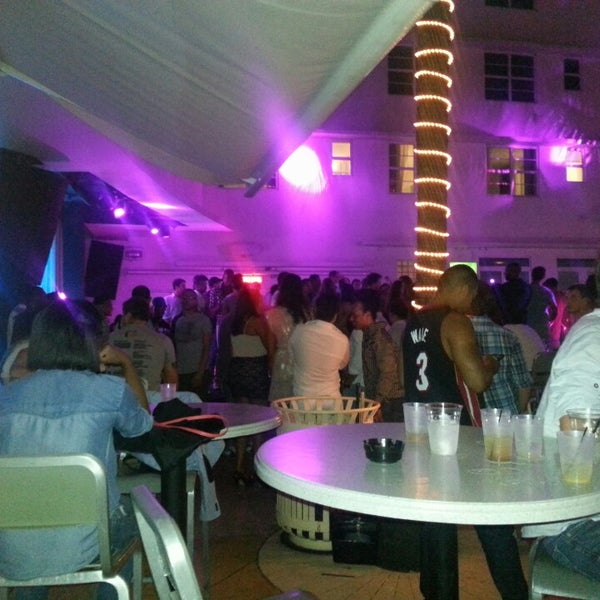 Photo taken at Clevelander South Beach Hotel and Bar by Justin M. on 5/14/2013