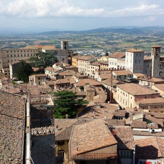 Photo taken at Basilica di San Fortunato by Lorenzo P. on 8/3/2014