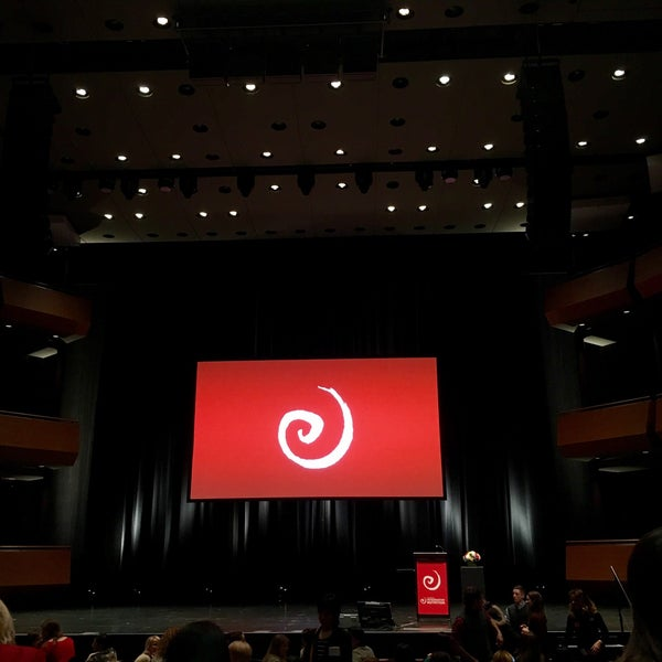 Photo taken at Rose Theater by Alison M. on 3/6/2016