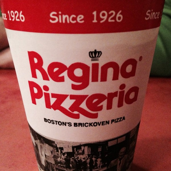 Photo taken at Regina Pizzeria by Vito E. on 5/21/2014