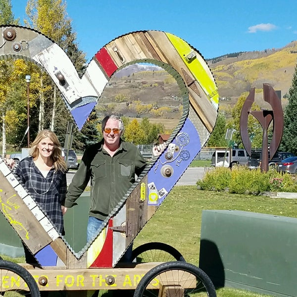 Photo taken at Crested Butte, CO by Brian H. on 9/25/2016