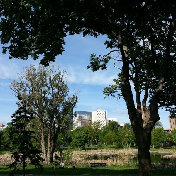 Photo taken at Loring Park by Omer K. on 6/2/2013