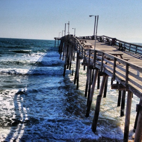 Nags head fishing pier 3335 s virginia dare trl for Nags head fishing pier