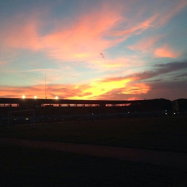Photo taken at Iloilo Sports Complex by Darryl markovnikov F. on 8/13/2014