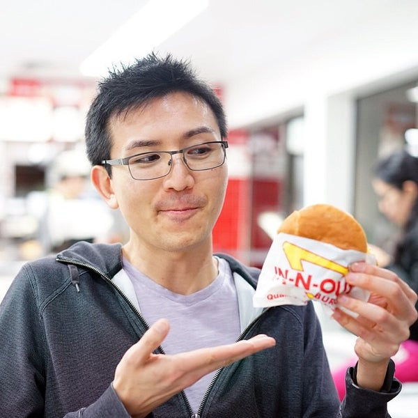 Photo taken at In-N-Out Burger by TJ C. on 2/4/2015