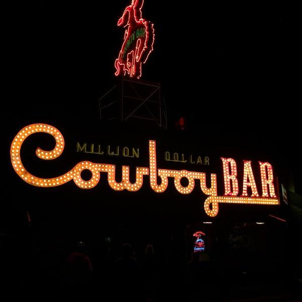 Photo taken at Million Dollar Cowboy Bar by Christina L. on 2/23/2015