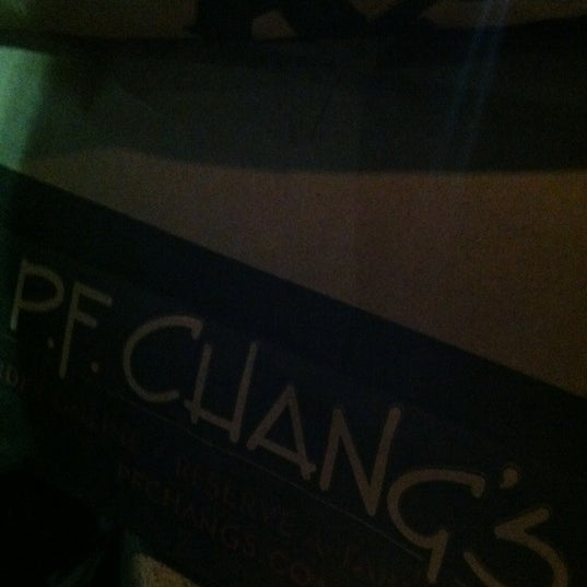 Photo taken at P.F. Chang's by Shawn A. on 10/6/2012