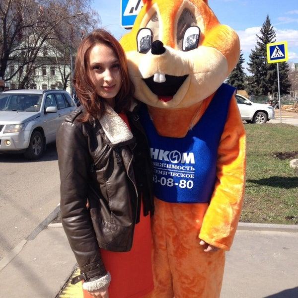 В обед возле Столыпина ходит Белка))))