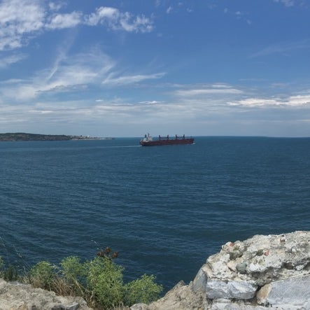 Photo taken at Poyrazköy Sahil by Ibrahim P. on 7/7/2016