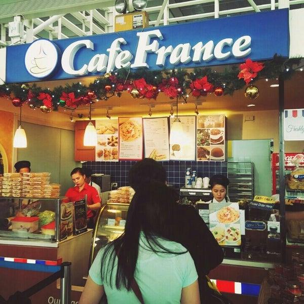Photo taken at Café France by Jo T. on 12/12/2015