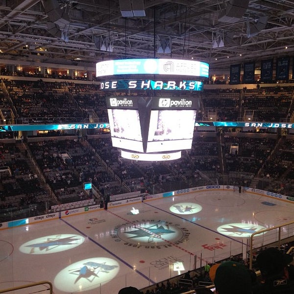 Photo taken at SAP Center at San Jose by Olga S. on 4/17/2013