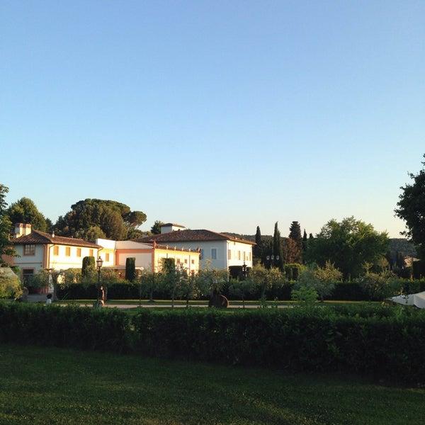 Photo taken at Villa Olmi Firenze by Carlo V. on 6/8/2014