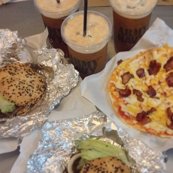 Photo taken at Army Navy Burger + Burrito by Trish T. on 6/30/2014