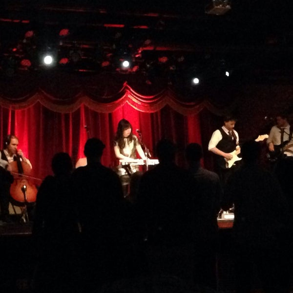 Photo taken at Brooklyn Bowl by Sara S. on 3/13/2014
