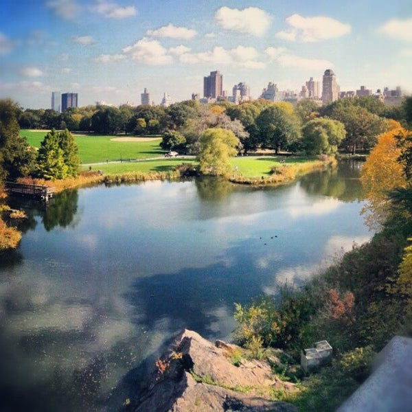 Photo taken at Belvedere Castle by Kenji Y. on 10/19/2012