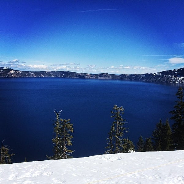 Photo taken at Crater Lake National Park by Saptak S. on 4/9/2014