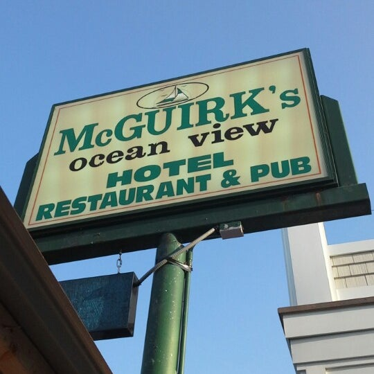 Photo taken at McGuirk's Ocean View by Mahut A. on 7/20/2014