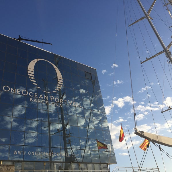 Photo taken at OneOcean Port Vell Barcelona by Laura G. on 6/20/2016