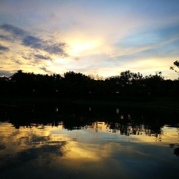 Photo taken at Queen Sirikit Park by Prapat C. on 9/18/2016