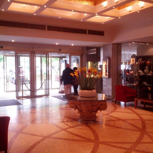 Photo taken at Hotel Royal by Ekaterina V. on 5/30/2014