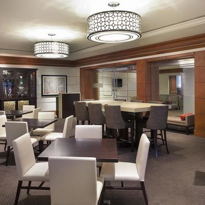 Photo taken at Sheraton Suites Houston Near The Galleria by Yext Y. on 10/2/2016