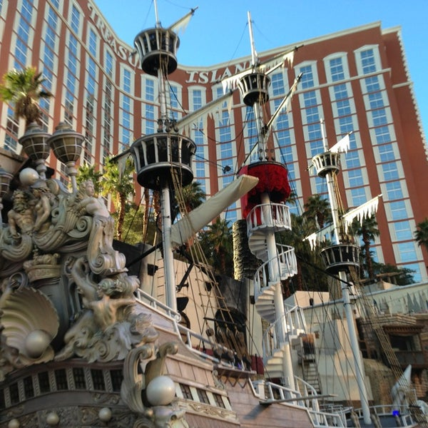 Photo taken at Treasure Island - TI Hotel & Casino by Benedict C. on 1/8/2013