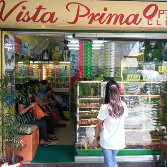 Vista Prima Optical Shop - Quiapo - Maynila, City of Manila