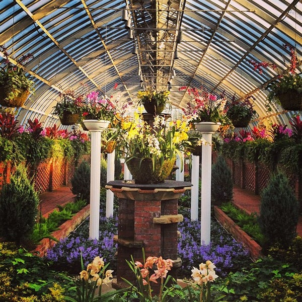 Phipps Conservatory And Botanical Gardens Botanical Garden In Pittsburgh