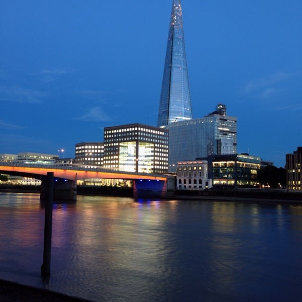 Photo taken at London Bridge by Alan B. on 7/24/2013