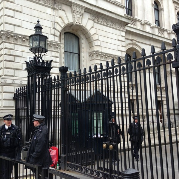Photo taken at 10 Downing St. by GK on 5/17/2013