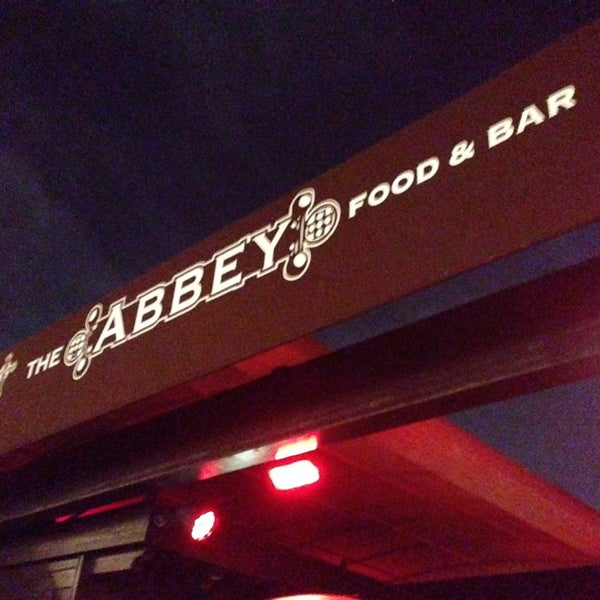 Photo taken at The Abbey Food & Bar by Jason W. on 3/5/2014