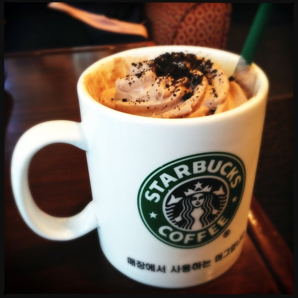 Photo taken at Starbucks by Boram J. on 4/21/2013