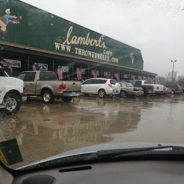 Photo taken at Lambert's Cafe by Misty G. on 3/30/2013