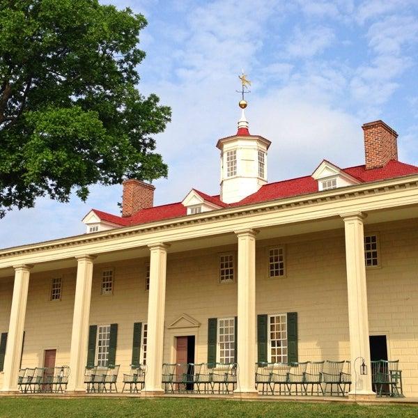 Photo taken at George Washington's Mount Vernon Estate, Museum & Gardens by Jason H. on 6/9/2013