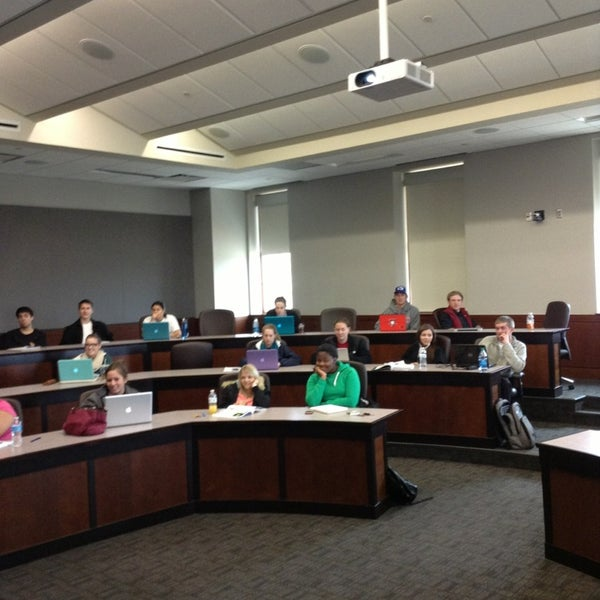 Photo taken at TTU - Rawls College of Business by Lin H. on 4/3/2013
