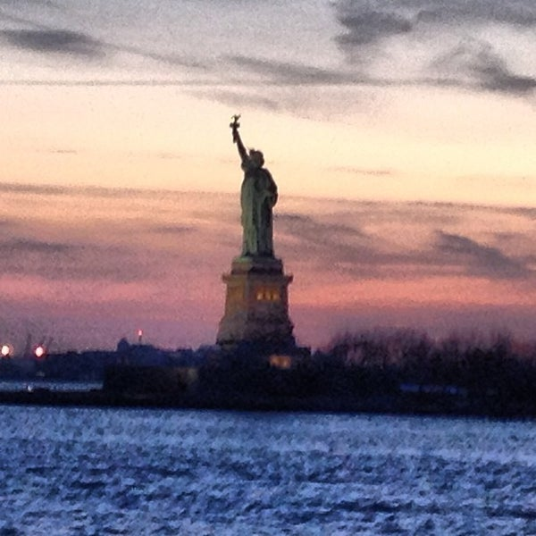 Photo taken at New York Harbor by James C C. on 4/6/2013