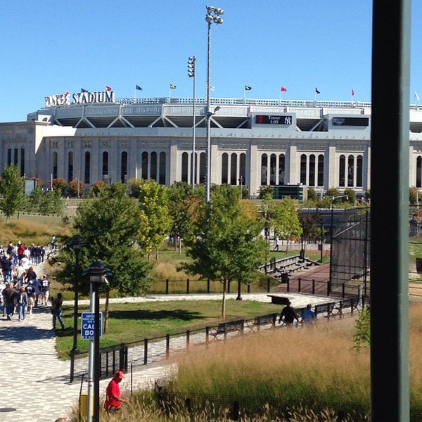 Photo taken at Yankee Stadium by Rob A. on 9/22/2013