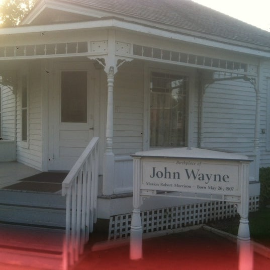 Photo taken at John Wayne Birthplace Museum by Jerry T. on 4/25/2012