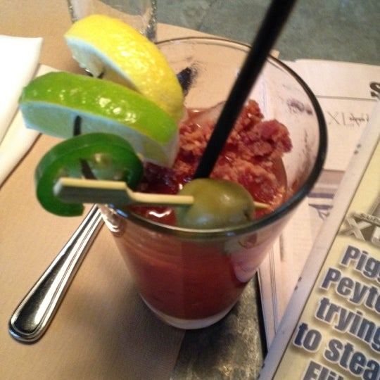 Bacon Bloody Maria will do nicely.