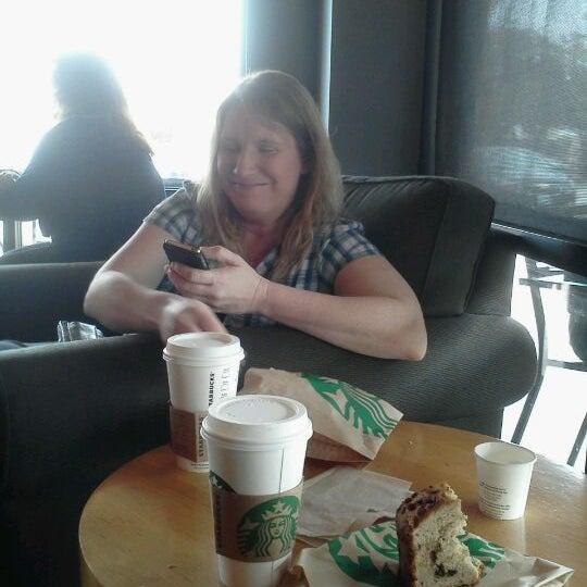 Photo taken at Starbucks by Jana R. on 3/12/2012