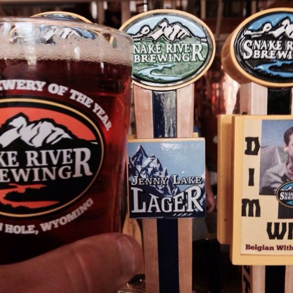 Photo taken at Snake River Brewery & Restaurant by Matt M. on 9/6/2015