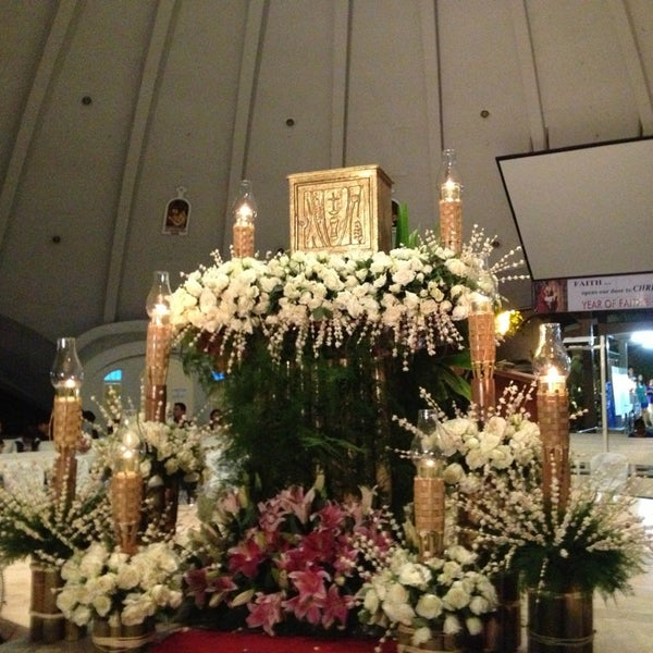 Photo taken at Sto. Niño de Paz Community Chapel by Mary Anne T. on 3/28/2013