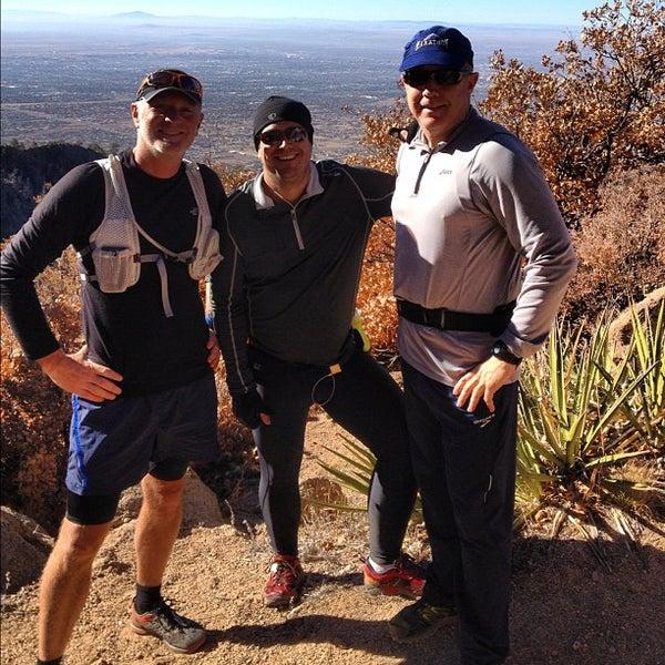 Photo taken at La Luz Trailhead by Michael D. on 11/24/2012